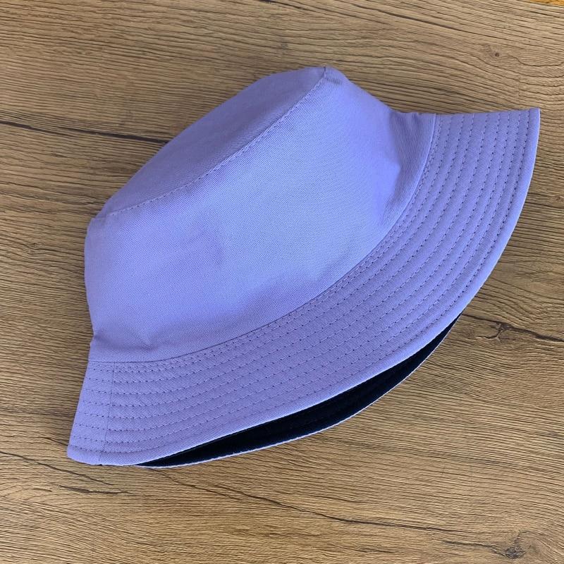Chapeau Bob de pêcheur à double face | Unisexe décontracté, couleur unie, seau pour hommes et femmes, hip hop Panama été marguerite, chapeau de pêcheur extérieur