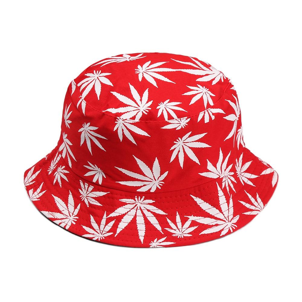 Chapeau de pêche en coton homme | Printemps femme Couple chapeau Hip Hop casquette feuille d'érable Panama seau chapeau soleil plat Top pêcheur chapeaux casquettes Boonie cadeau