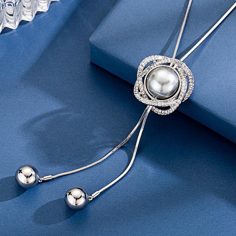 Long colliers et pendentifs pour les femmes Maxi Collier Femme géométrique chaîne mode Collier déclaration Colar accessoires bijoux 2019