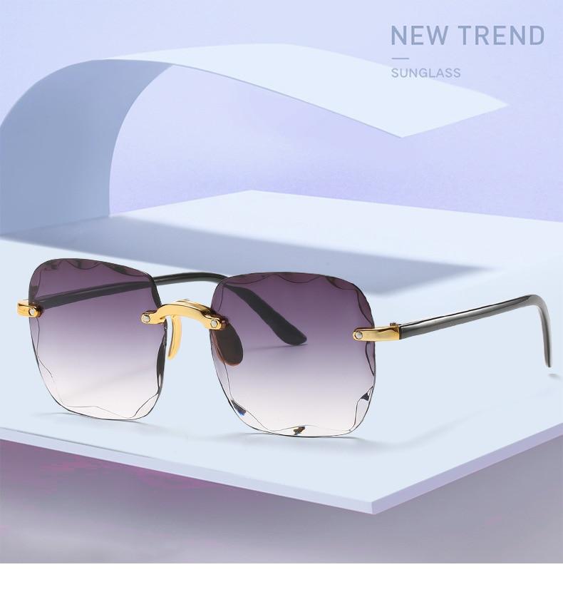 Offre spéciale nouvelles femmes lunettes de soleil 2020 marque créateur de mode carré lunettes de soleil femmes UV400 lunettes de soleil pour lunettes pour femme femme