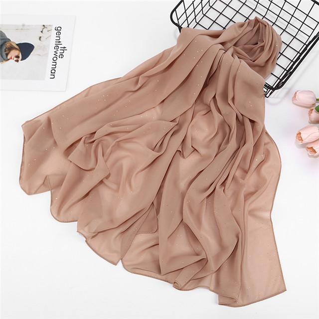 Châles en mousseline de soie pour femmes