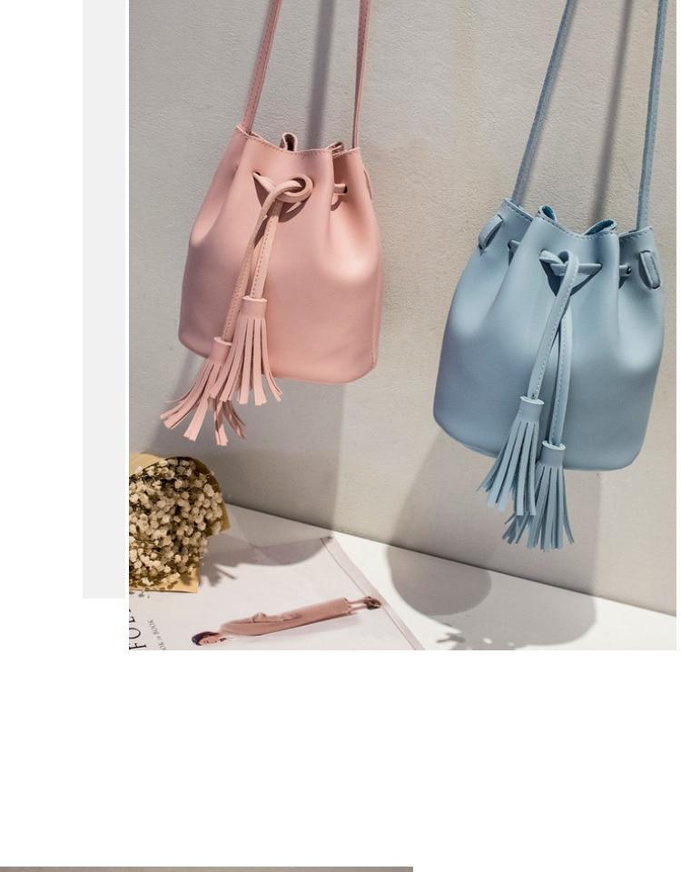 Vintage gland bandoulière seau Sac de luxe femme Sac femme épaule sacs à Main cordon messager bandoulière sacs Sac Main