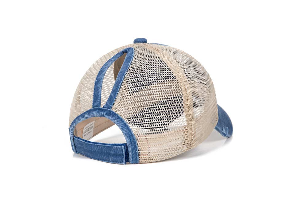 Été femmes maille queue de cheval casquettes de Baseball mode casquettes de relance pour femme Sport chapeau dames os haute qualité casquette gorro