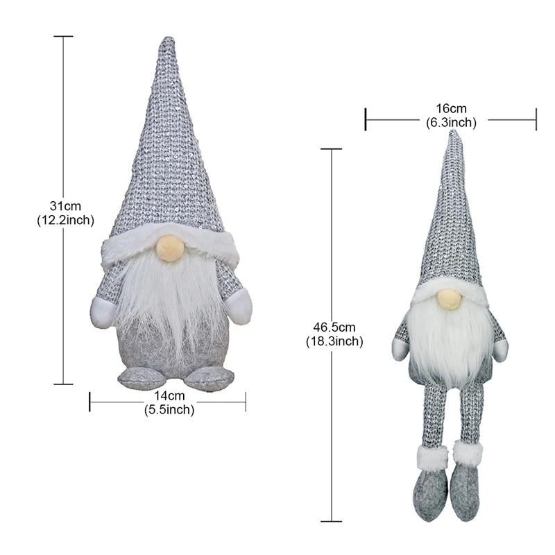 FRIGG Santa poupée sans visage 2020 décorations de noël pour la maison joyeux noël ornement noël cadeaux Navidad bonne année 2021