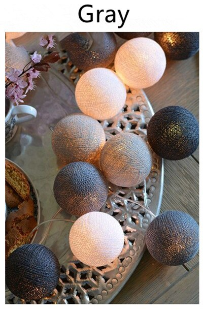 Guirlande lumineuse boule de noël pour Noel, décorations pour arbre de noël, pour la maison, nouvel an, LED, Noel, 3M, 20 2020